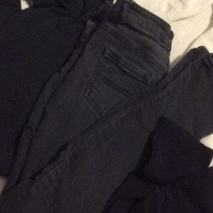 Girls pants size 10/12 and 14